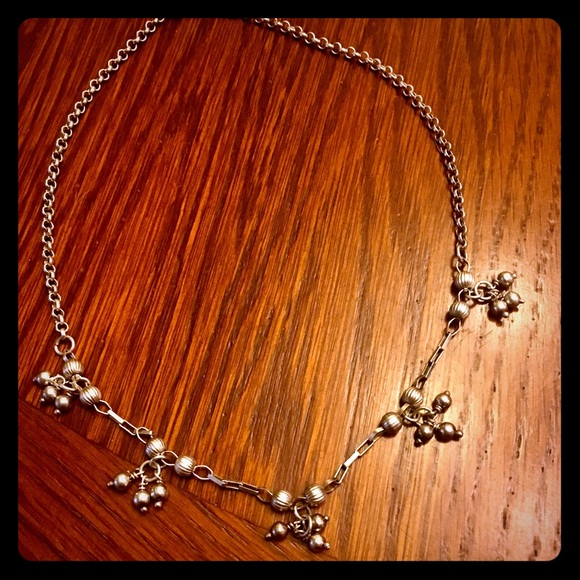 Vintage Jewelry - Antique sterling silver necklace